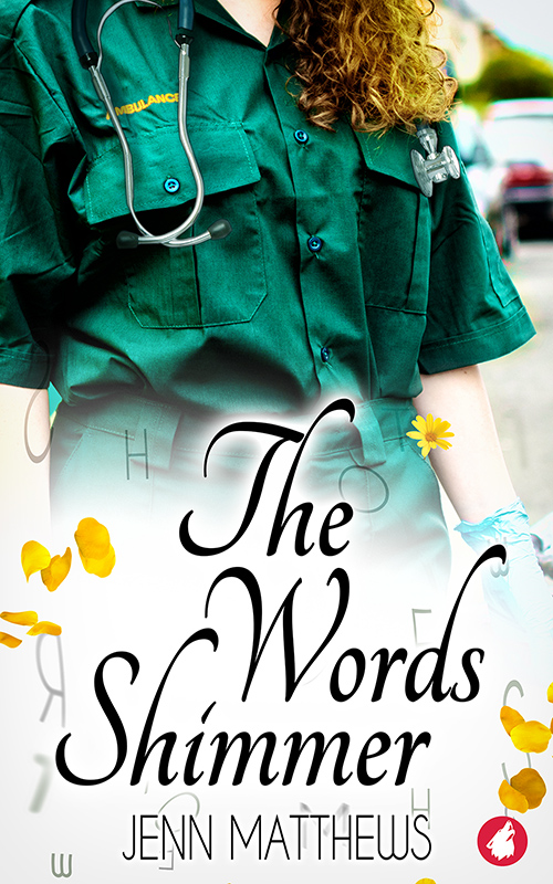 The Words Shimmer by Jenn Matthews