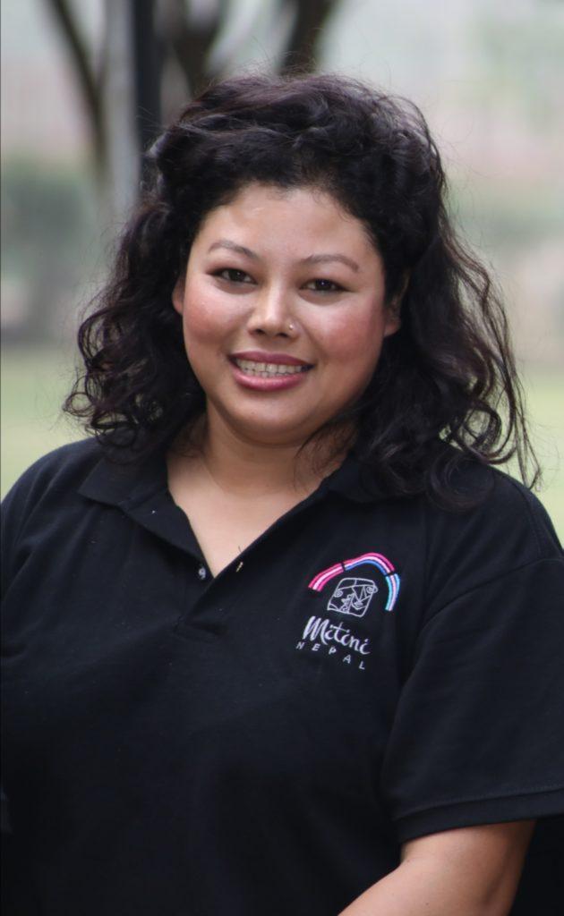 Aktivistin für Bisexualität Sarita KC